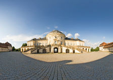 Schloss Solitude. Panorama of the Castle Solitude, Stuttgart Germany Royalty Free Stock Photos