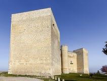 Schloss Spanien Montealegre de Campos stockfotografie