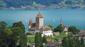 Schloss Spiez Royalty Free Stock Image