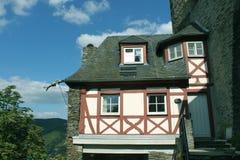 Schloss Stahleck Dragon Gargoyle Stockfotografie