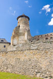 Schloss Stara Lubovna Lizenzfreies Stockfoto