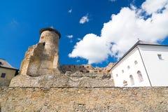 Schloss Stara Lubovna Stockfotos