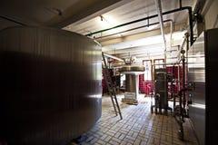 Schloss Starkenberg - alte Brauerei lizenzfreie stockfotos