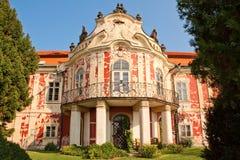 Schloss Steknik stockfotografie