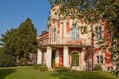 Schloss Steknik stockbilder