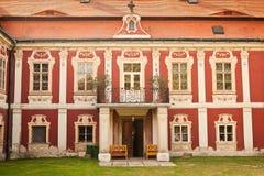 Schloss Steknik stockfoto