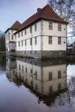 Schloss struenkede Herne Deutschland Lizenzfreie Stockfotografie