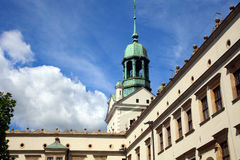 Schloss in Szczecin Lizenzfreie Stockbilder