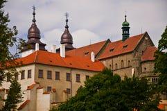 Schloss TÅebÃÄ Lizenzfreie Stockfotos