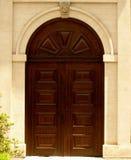 Schloss-Tür Lizenzfreie Stockfotos