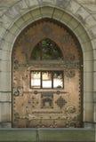 Schloss-Tür stockfotografie