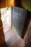Schloss-Tür lizenzfreie stockbilder