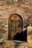 Schloss-Tür stockfoto