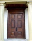 Schloss-Türen Stockbild