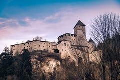 Schloss Taufers in Campo Tures, Italien lizenzfreie stockfotografie
