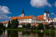 Schloss TelÄ Lizenzfreie Stockbilder