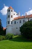 Schloss Telc Lizenzfreie Stockbilder
