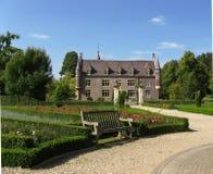 Schloss Terworm und Garten Stockbild
