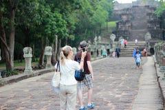 Schloss Thailand stockbild