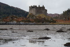 Schloss Tioram, schottische Hochländer Lizenzfreie Stockbilder