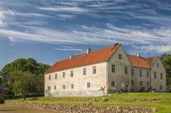 Schloss Tommarps Kungsgard Stockbild