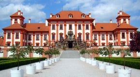 Schloss Troja Lizenzfreie Stockfotografie