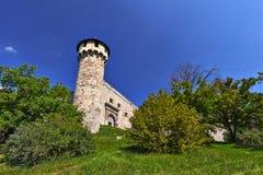 Schloss-Turm Stockfoto
