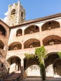 Schloss-Turm und Bögen Lizenzfreie Stockfotos