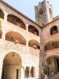 Schloss-Turm und Bögen Lizenzfreie Stockfotografie