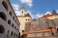 Schloss in Ukraine stockbilder