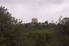 Schloss Ulldecona Stockbilder