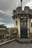 Schloss und Gärten Stockfotografie