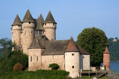 Schloss Val, Frankreich stockbilder
