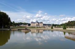 Schloss Vaux le Vicomte stockbild