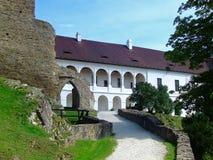 Schloss Velhartice stockfotografie