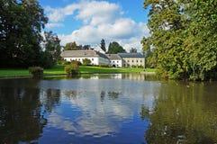 Schloss Velke Losiny Stockfoto