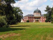 Schloss Veltrusy in der Tschechischen Republik lizenzfreies stockfoto