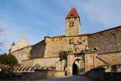 Schloss veste Kammgarn-stoff Lizenzfreies Stockfoto