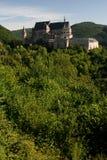Schloss in Vianden, Luxemburg Lizenzfreies Stockbild