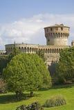 Schloss in Volterra Lizenzfreie Stockbilder