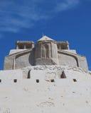 Schloss vom Sand Stockbild