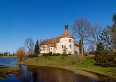 Schloss von 1301 in Lettland Lizenzfreie Stockfotos