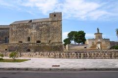 Schloss von Acaya. Vernole. Puglia. Italien. Stockfotografie