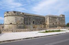 Schloss von Acaya. Vernole. Puglia. Italien. Stockbilder