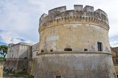 Schloss von Acaya. Vernole. Puglia. Italien. Lizenzfreie Stockbilder