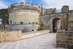 Schloss von Acaya. Vernole. Puglia. Italien. Stockbild
