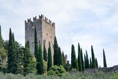 Schloss von ACRO di Trento - Stockbilder