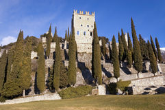 Schloss von ACRO di Trento - Trentino Italien Lizenzfreies Stockfoto