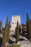 Schloss von ACRO di Trento - Trentino Italien Stockfotografie
