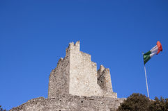 Schloss von ACRO di Trento - Trentino Italien Lizenzfreie Stockfotos